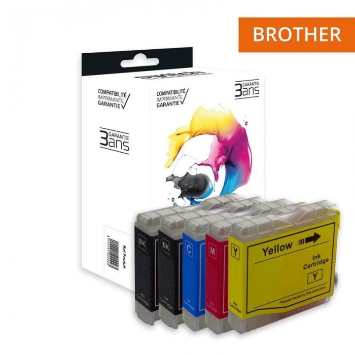 Switch Brother LC985 Pack 4+1 Gratuite