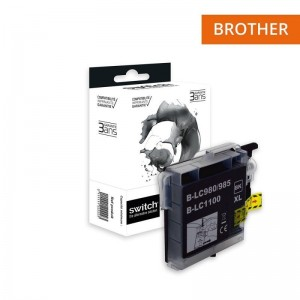 Switch Brother LC980 LC1100 Noir