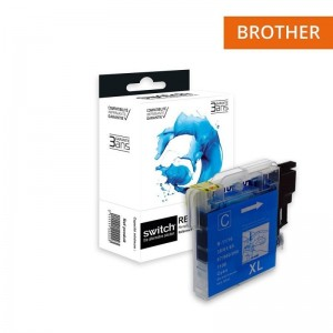 Switch Brother LC980 LC1100 Cyan