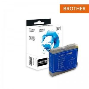 Switch Brother LC970 LC1000 Cyan