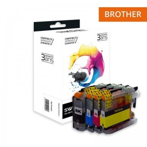 Switch Brother LC225 LC227 Pack 4 Couleurs