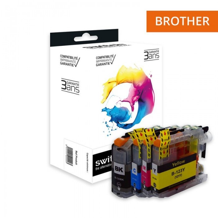 switch-b123-pack-x-4-equivalent-a-brother-lc123-noir-cyan-magenta-jaune