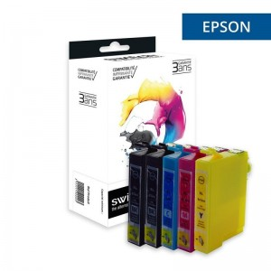 switch-e1636-pack-x-5-equivalent-a-epson-t1636-stylo-plume-noir-cyan-magenta-jaune
